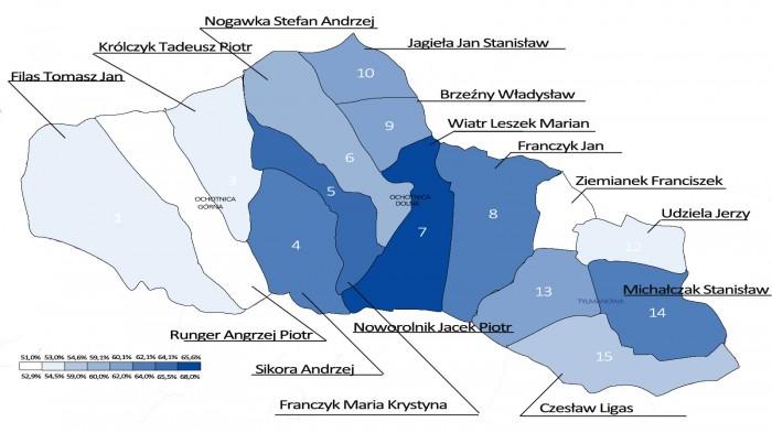 Ochotnica Mapy